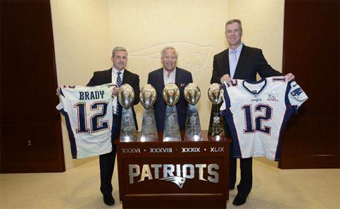 Patriots ya tiene los jerseys robados en Super Bowls