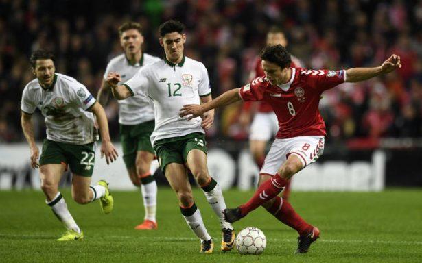Dinamarca e Irlanda empatan sin goles; definirán boleto a Rusia 2018 en Dublín
