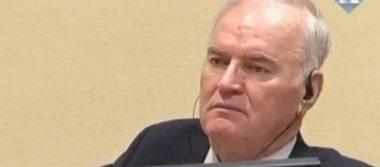 """Mladic, el """"Carnicero de los Balcanes"""", condenado a cadena perpetua por genocidio"""