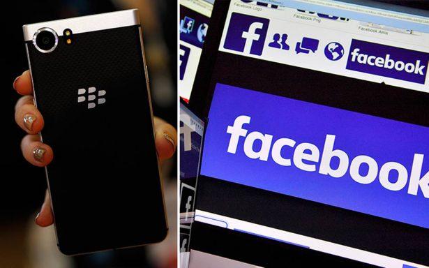 BlackBerry demanda a Facebook: le acusa de violar patentes