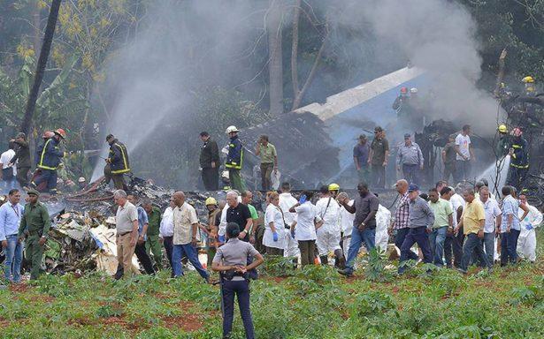 Muere una de las tres sobrevivientes de accidente aéreo en Cuba; suman 111 decesos