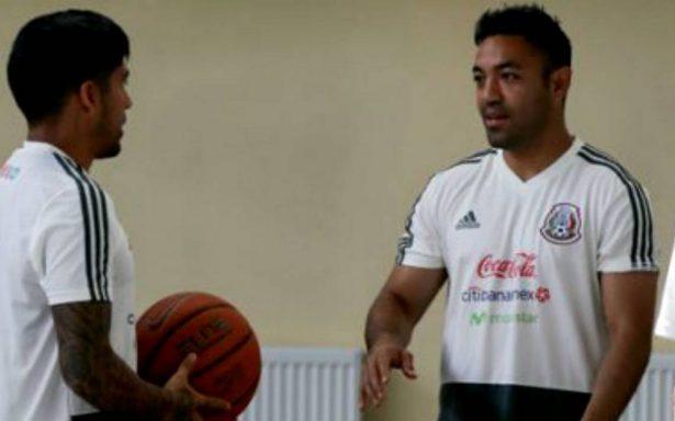 [Video] El Tricolor cambia el futbol por el basquet