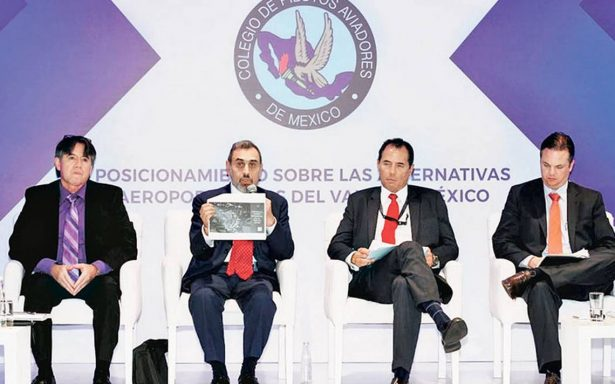 Santa Lucía un parche temporal: expertos a favor de NAIM en Texcoco
