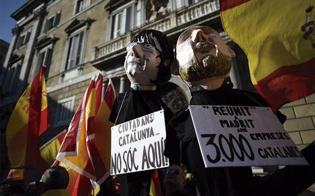 """España """"tuvo miedo"""" al ridículo, señala el expresidente Puigdemont"""
