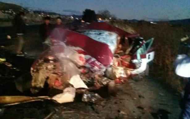 Siete muertos deja aparatoso choque en la carretera a Mitla