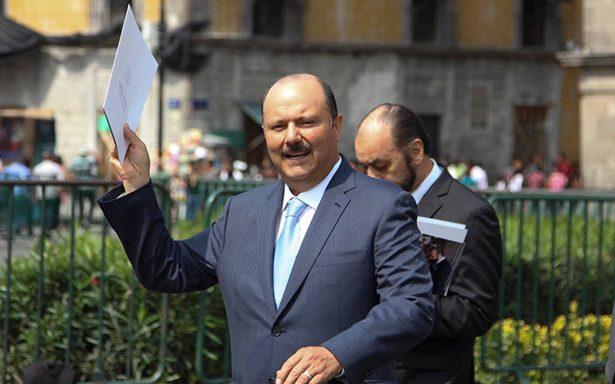 César Duarte no tiene orden de arresto por justicia de EU