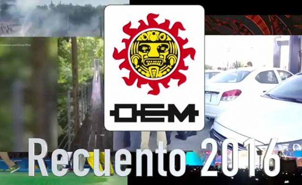 El Sol de México te presenta el recuento 2016
