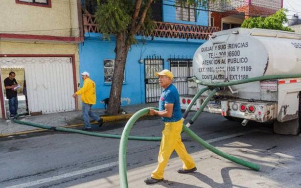 Condonan el pago de agua en Iztapalapa