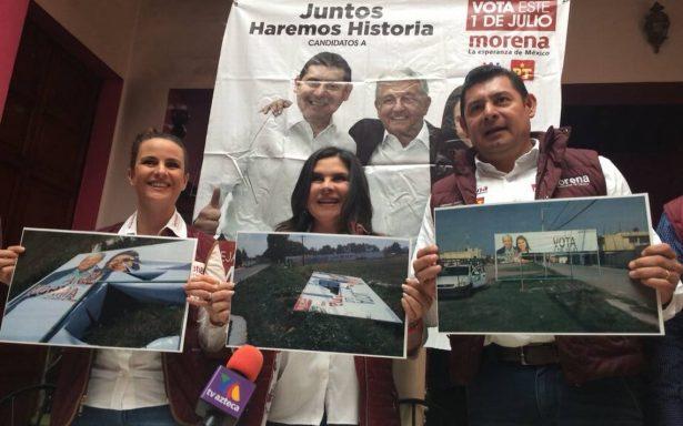 """Candidata de Morena en Texmelucan denuncia amenazas para que """"se baje"""" de la contienda"""