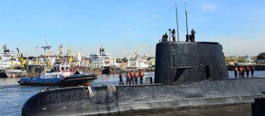 Clima favorece la búsqueda de submarino argentino