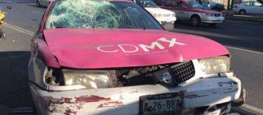 Taxista atropella a dos mujeres en la CDMX; una de ella es menor de edad