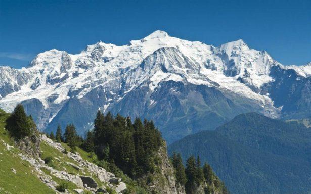 El Mont Blanc, la cumbre más alta de Europa perdió 1 cm en dos años