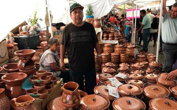 Mercado de artesanías, del corazón a las manos…