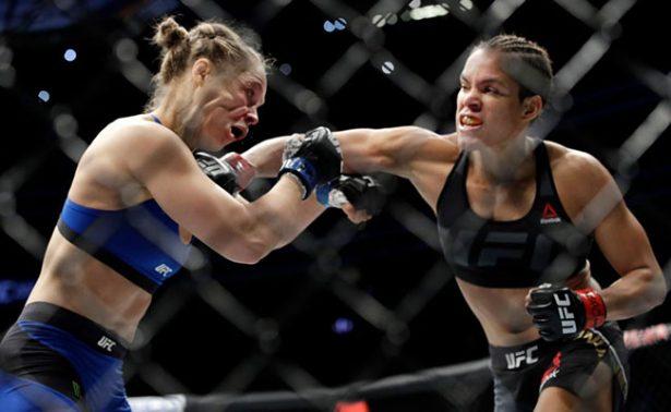 ¡En 48 segundos! noquean a Ronda Rousey en su regreso a UFC