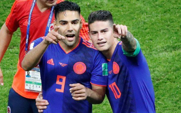 Colombia pone a bailar a Polonia al golearlo 3-0 en el Mundial