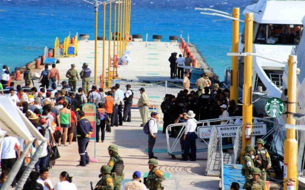 Descartan terrorismo en explosión de ferry en Playa del Carmen