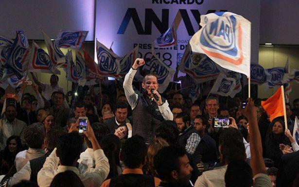 PAN celebra fallo del INE sobre PGR para retirar video de Anaya