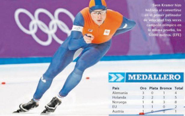 Kramer, a la historia olímpica