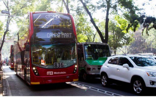 Aplicará SSP operativo permanente a la altura del Auditorio para agilizar la circulación de Metrobús