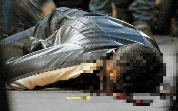 Lo ejecutan a balazos mientras comía pozole en la Álvaro Obregón