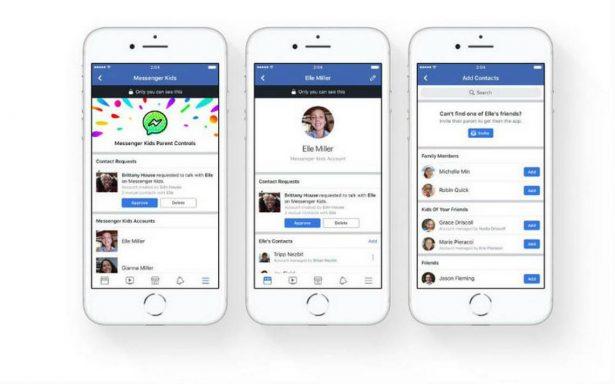 Facebook lanza Messenger Kids, un chat dedicado solo para niños