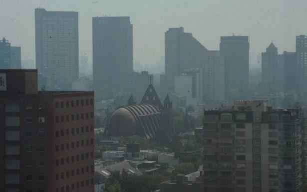 Valle de México con mala calidad del aire esta tarde