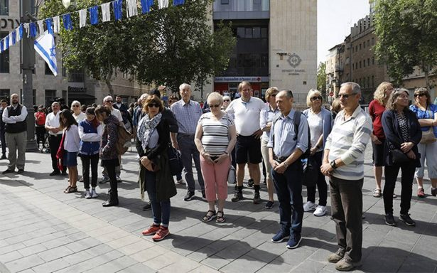 Israel recuerda los 6 millones de víctimas el Día del Holocausto