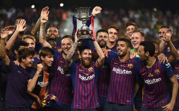 Messi se convierte en el hombre con más títulos del Barcelona