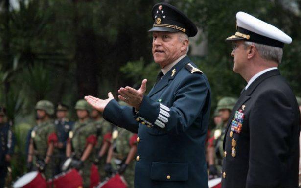 """""""Grave error"""" una amnistía con el crimen organizado: Defensa y Marina"""