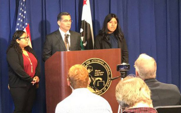 Demandan a Trump: procurador de California rechaza eliminación de DACA