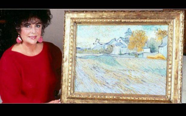 Subastan por 40 millones de dólares un Van Gogh que perteneció a Elizabeth Taylor