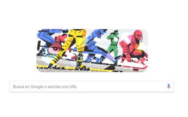 Así celebra Google el arranque de los Juegos Paralímpicos en Corea del Sur