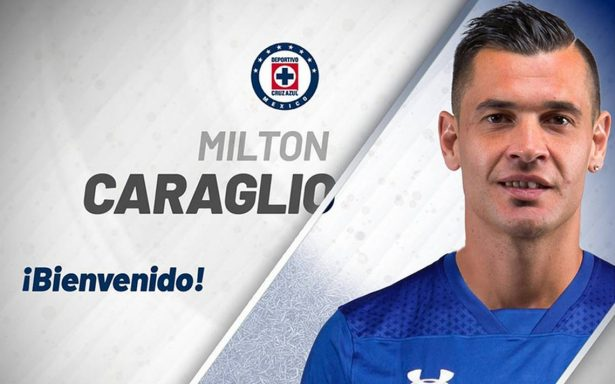 Milton Caraglio oficialmente nuevo jugador de Cruz Azul