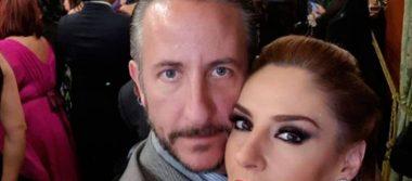 """Chantal Andere """"pelea"""" con su esposo en ceremonia del Grito"""