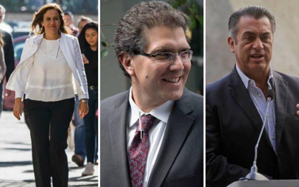 Zavala, Ríos Piter y El Bronco confirman su registro como candidatos presidenciales