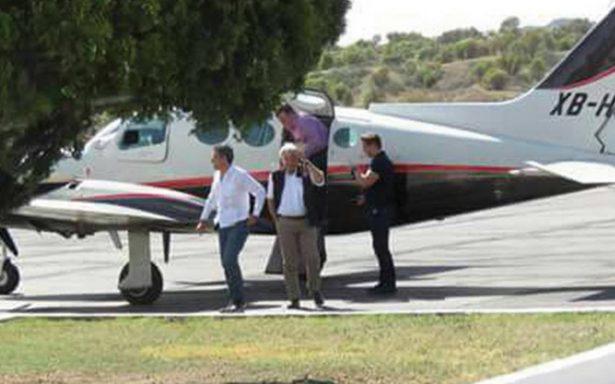 AMLO genera controversia tras vuelo privado de Mexicali a Nogales en avioneta
