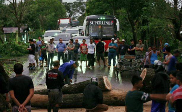 Tifón Nock-Ten deja cinco muertos y 18 desaparecidos en Filipinas