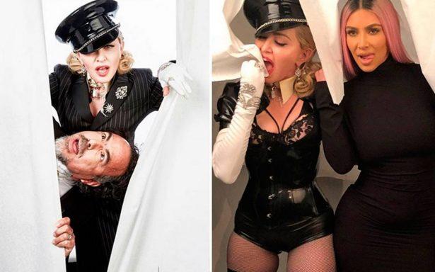 Así se divirtió Iñárritu con Madonna y Kim Kardashian después de los Oscar
