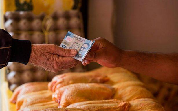 Inflación anual registra 5.34% en febrero ante alza de gasolina, huevo y pollo