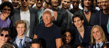 Giorgio Armani cierra hoy la Semana de la Moda masculina de Milán