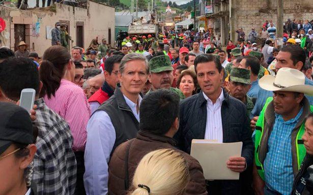 [Video] EPN condena a quienes obstruyan apoyo a víctimas del sismo