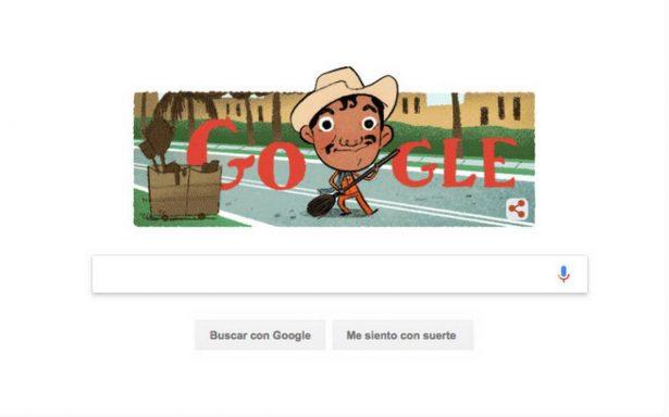 Google rinde homenaje a Cantinflas en su natalicio con doodle