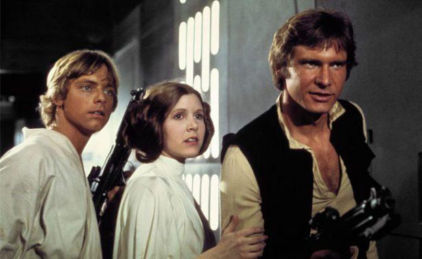 Carrie Fisher y la Princesa Leia, tobogán de adicciones
