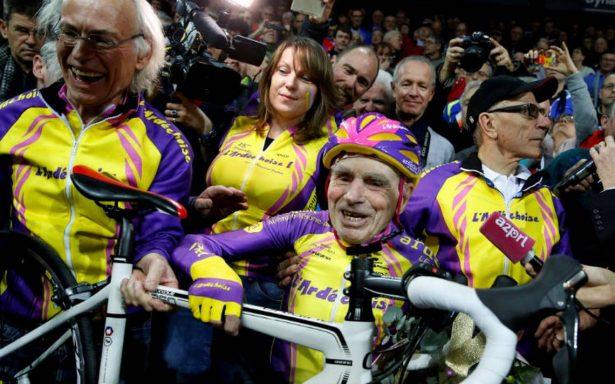 Robert Marchand cuelga la bicicleta, se retira a los 106 años