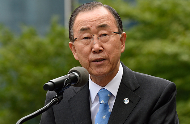 Se retira Ban Ki-moon de ONU con aspiración política en Corea del Sur
