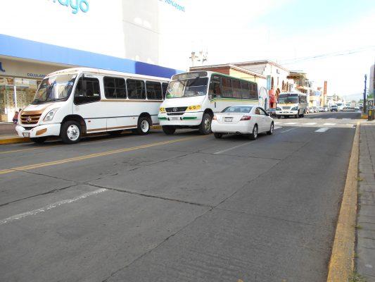 Tarifa del transporte  público será de 8 pesos