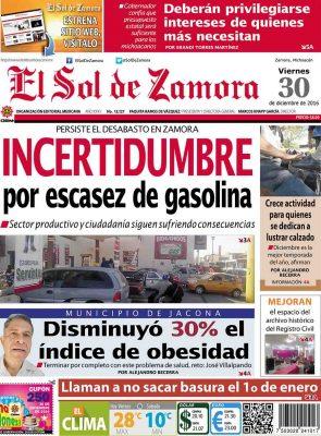 portada 30 de diciembre de 2016