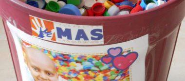 Fundación MAS hará el  tercer envío de tapitas