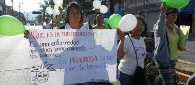 Con desfile conmemora Día Mundial de Lucha contra la Tuberculosis