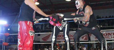 Gladiadores del pancracio mexicano, con el CRI-Promotón
